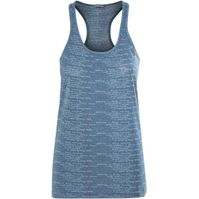 Meru Lille Drirelease Sleeveless Shirt Women blue